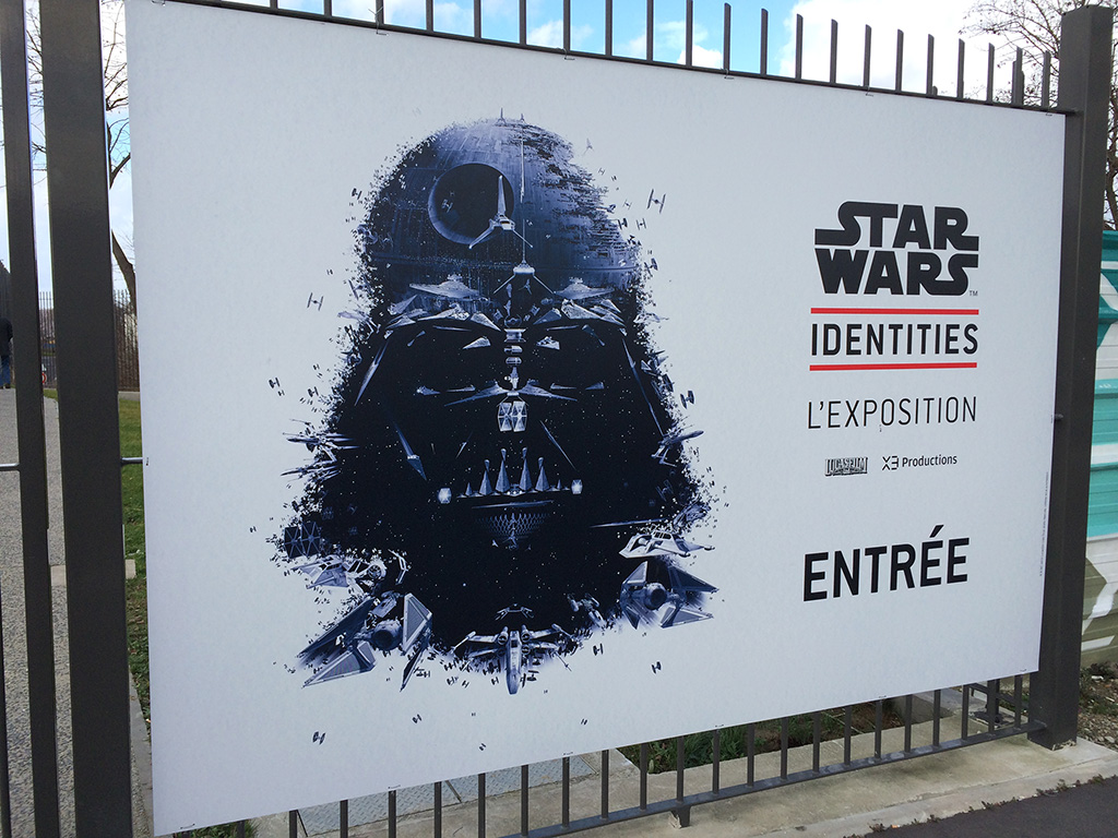 Exposition Star Wars Identities - Affiche